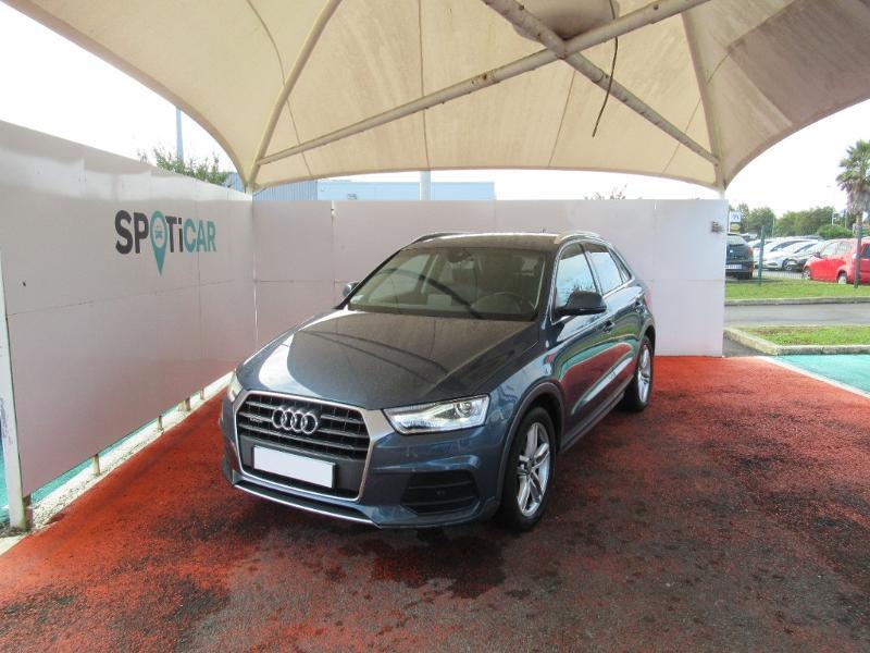 Audi Q3 2.0 TDI 184ch S line quattro S tronic 7 Diesel BLEU Occasion à vendre