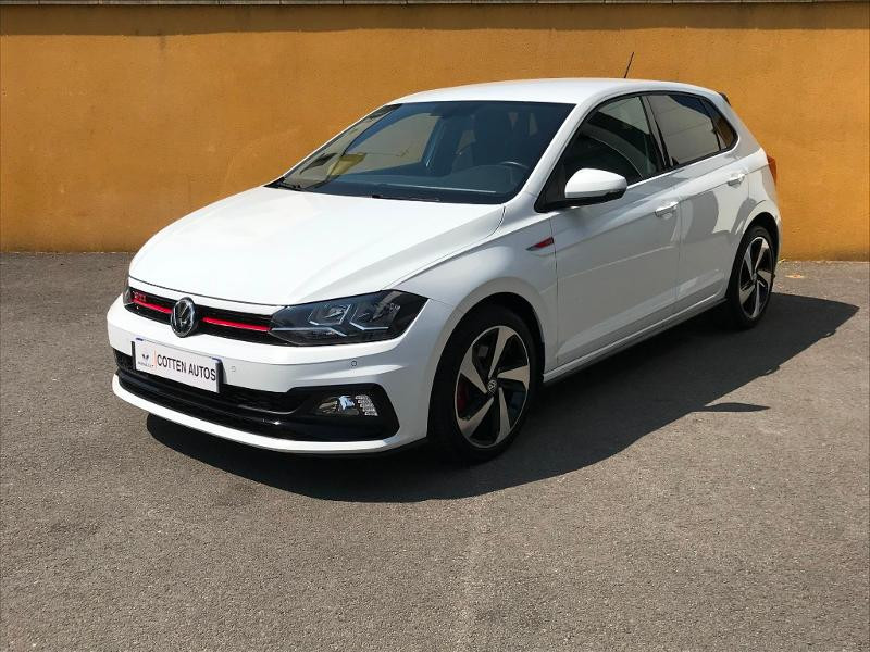 Volkswagen Polo 2.0 TSI 200 GTI DSG 6 Essence BLANC PUR Occasion à vendre