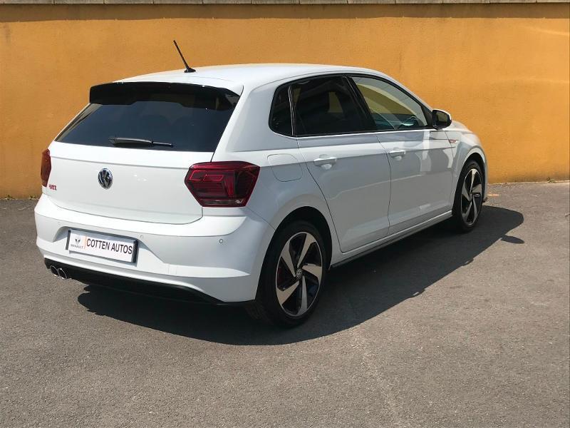 Photo 4 de l'offre de VOLKSWAGEN Polo 2.0 TSI 200 GTI DSG 6 à 22990€ chez Cotten Autos avenue de la gare