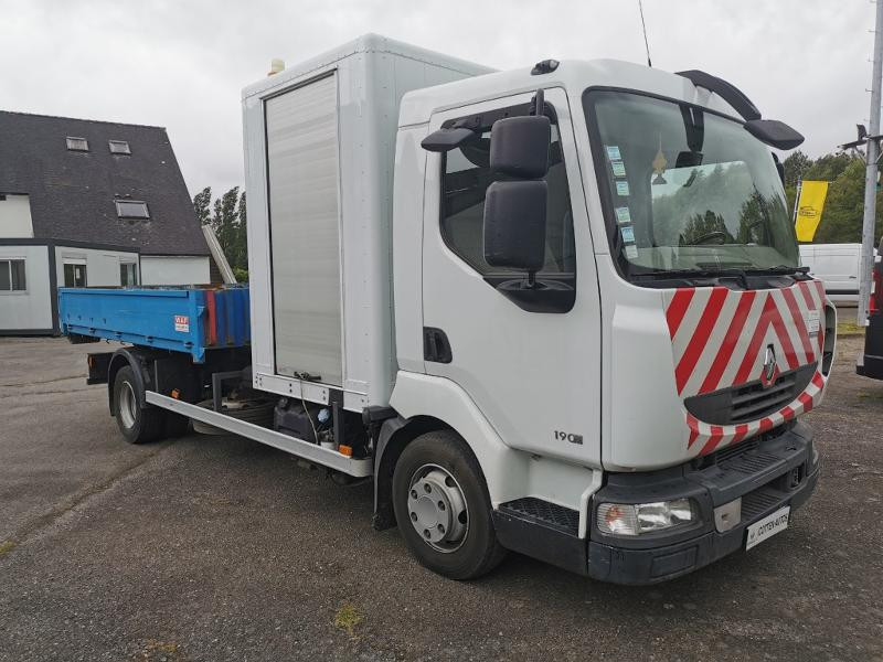 Renault Trucks Midlum 190 dxi BENNE AMPLIROLL + CAISSON Diesel Blanc Occasion à vendre