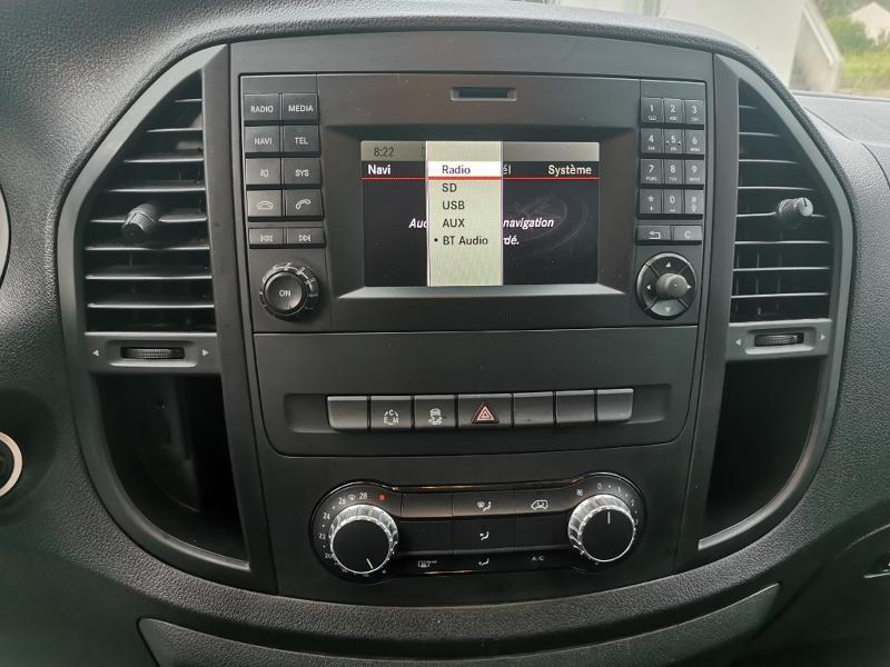 Photo 13 de l'offre de MERCEDES-BENZ Vito Fg 116 CDI Compact Pro BVA à 22990€ chez Cotten Autos avenue de la gare