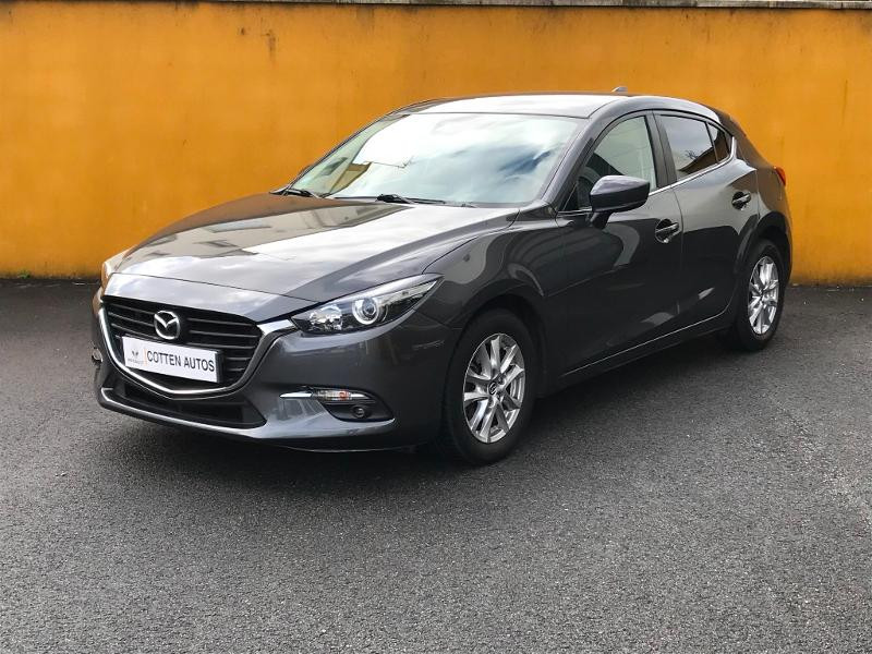 Mazda Mazda 3 1.5 SKYACTIV-D 105 Elégance BVA Diesel Gris Foncé Métal Occasion à vendre