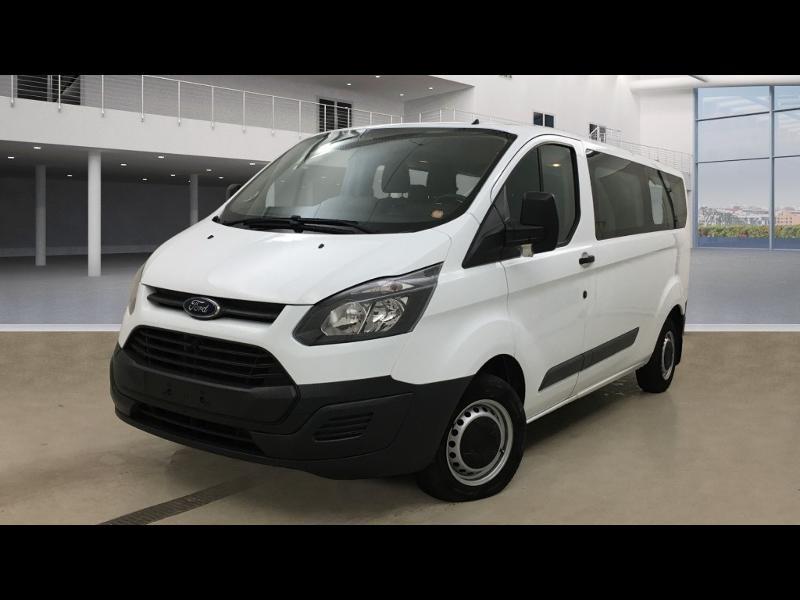Ford Transit Custom Kombi 310 L2H1 2.2 TDCi 100 Ambiente Diesel Blanc Occasion à vendre