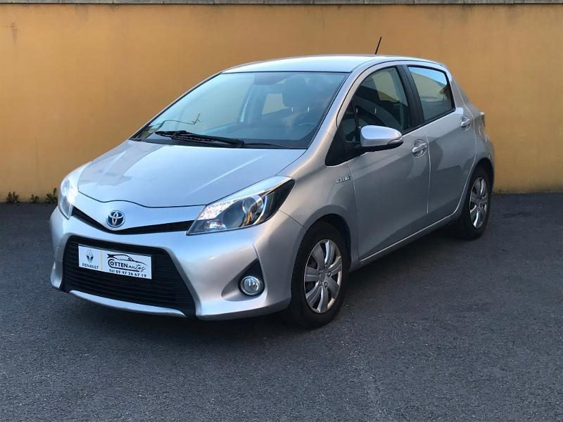 Toyota Yaris HSD 100h Business 5p Hybride Gris Clair Métal Occasion à vendre