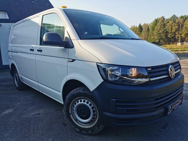 Volkswagen Transporter T6 L1H1 2.0 TDI 140 Hayon vitré Diesel Blanc Occasion à vendre