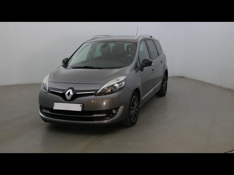 Renault Grand Scenic 1.6 dCi 130ch energy Bose eco² 7 places Diesel Gris Foncé Métal Occasion à vendre