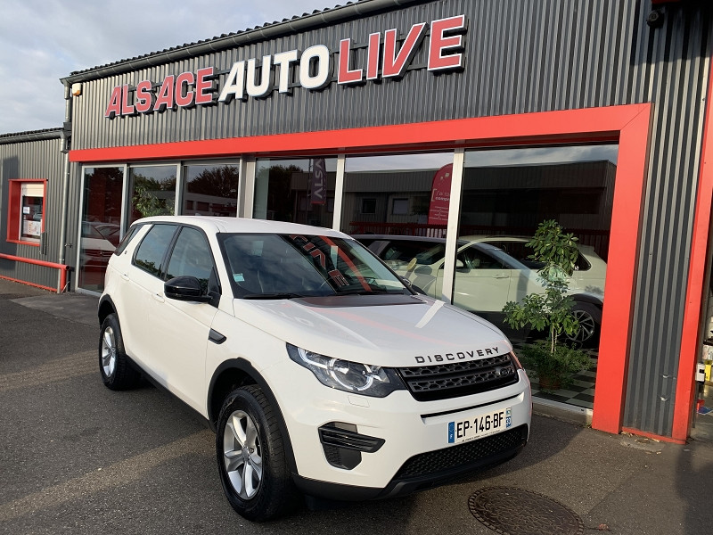 Land-Rover DISCOVERY SPORT 2.0 TD4 180CH PURE AWD BVA MARK III Diesel BLANC Occasion à vendre