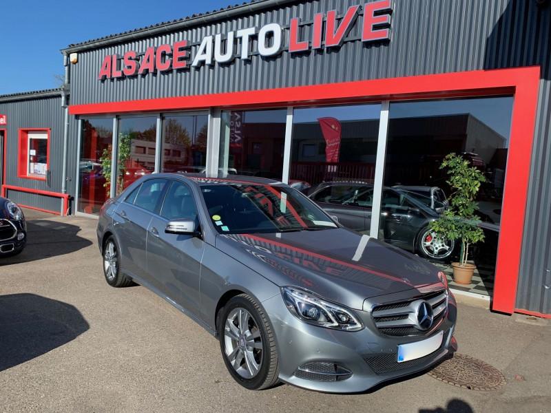 Mercedes-Benz CLASSE E (W212) 220 CDI EXECUTIVE 7G-TRONIC+ Diesel GRIS Occasion à vendre