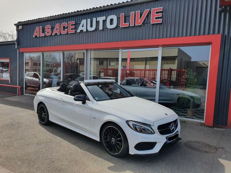 Mercedes-Benz CLASSE C CABRIOLET 220 D 170CH NIGHT EDITION 9G-TRONIC Diesel BLANC Occasion à vendre
