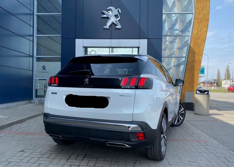 Photo 3 de l'offre de PEUGEOT 3008 HYBRID4 300CH GT E-EAT8 11CV à 45465€ chez YM Automobiles