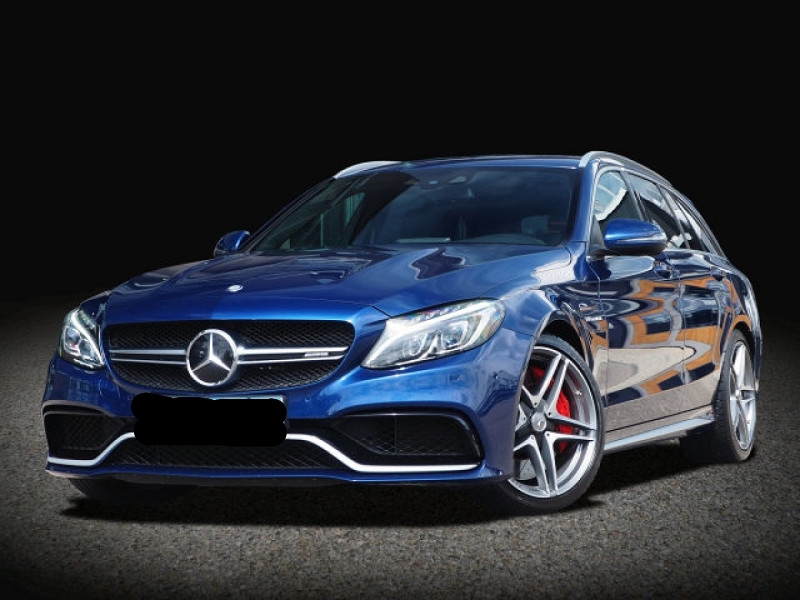 Mercedes-Benz CLASSE C BREAK (S205) 63 AMG S SPEEDSHIFT MCT AMG Essence BLEU Occasion à vendre