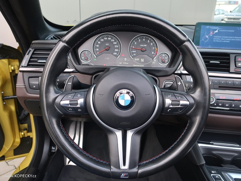 Photo 9 de l'offre de BMW M4 CABRIOLET (F83) M4 431CH DKG à 50000€ chez YM Automobiles