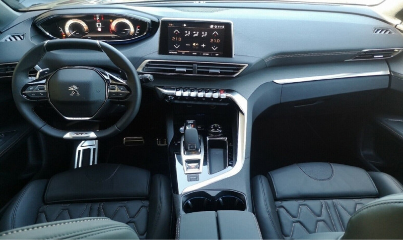 Photo 6 de l'offre de PEUGEOT 3008 2.0 BLUEHDI 180CH S&S GT EAT8 à 40200€ chez YM Automobiles