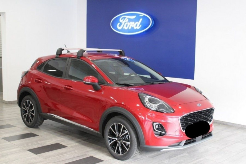 Ford PUMA 1.0 ECOBOOST 125CH TITANIUM DCT7 Essence ROUGE Neuf à vendre