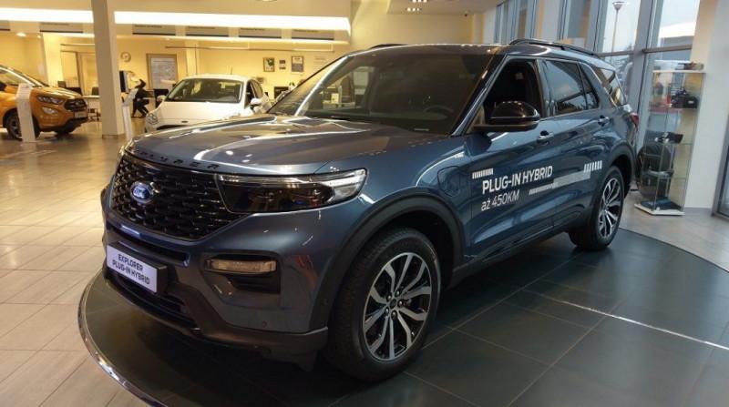 Ford EXPLORER 3.0 ECOBOOST 457CH PARALLEL PHEV ST-LINE I-AWD BVA10 Hybride BLEU Neuf à vendre