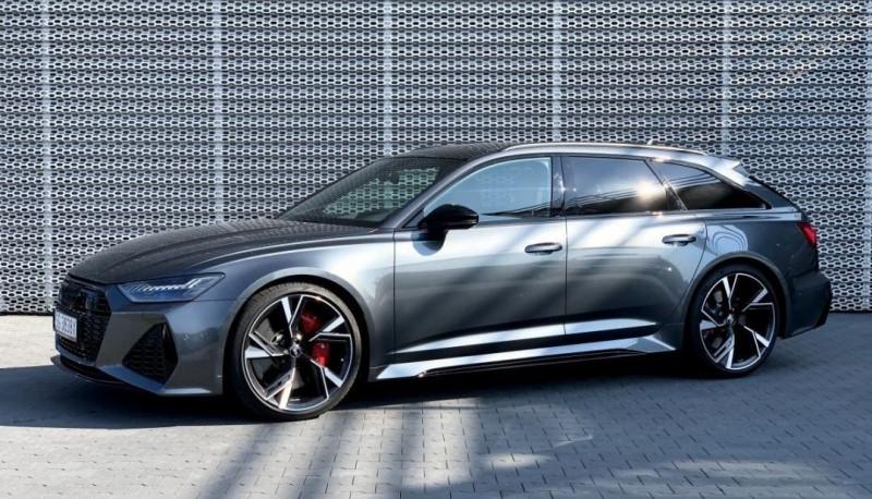 Audi RS6 AVANT 4.0 V8 TFSI 600CH QUATTRO TIPTRONIC Essence GRIS Occasion à vendre