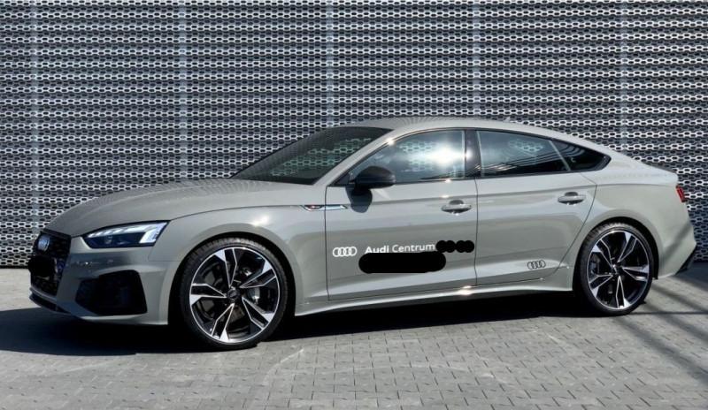 Audi A5 SPORTBACK 45 TFSI 245CH S LINE QUATTRO S TRONIC 7 Essence GRIS Occasion à vendre