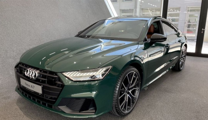 Audi A7 SPORTBACK 45 TFSI 265CH AVUS QUATTRO S TRONIC 7 EURO6D-T 16CV Essence VERT Neuf à vendre