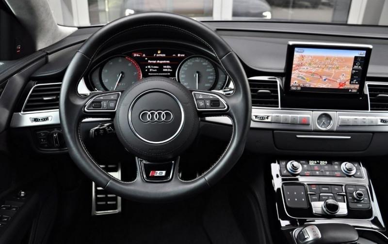 Photo 14 de l'offre de AUDI S8 4.0 V8 TFSI 605CH PLUS QUATTRO TIPTRONIC à 70500€ chez YM Automobiles