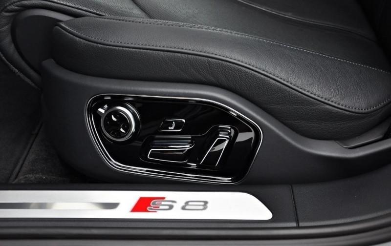 Photo 10 de l'offre de AUDI S8 4.0 V8 TFSI 605CH PLUS QUATTRO TIPTRONIC à 70500€ chez YM Automobiles