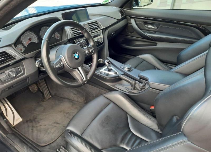 Photo 6 de l'offre de BMW M4 COUPE (F82) 3.0 450CH PACK COMPETITION DKG à 65000€ chez YM Automobiles