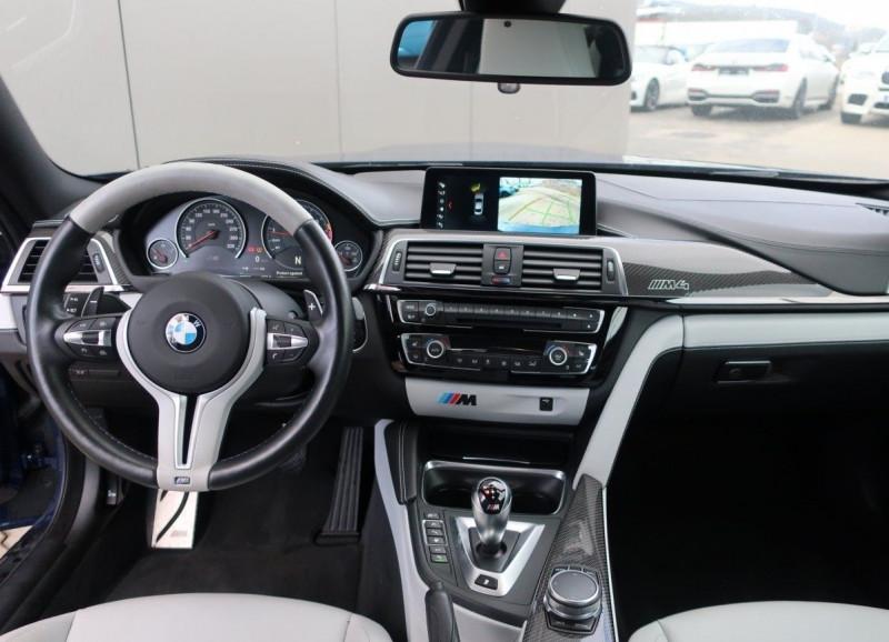 Photo 5 de l'offre de BMW M4 COUPE (F82) M4 431CH DKG à 70000€ chez YM Automobiles