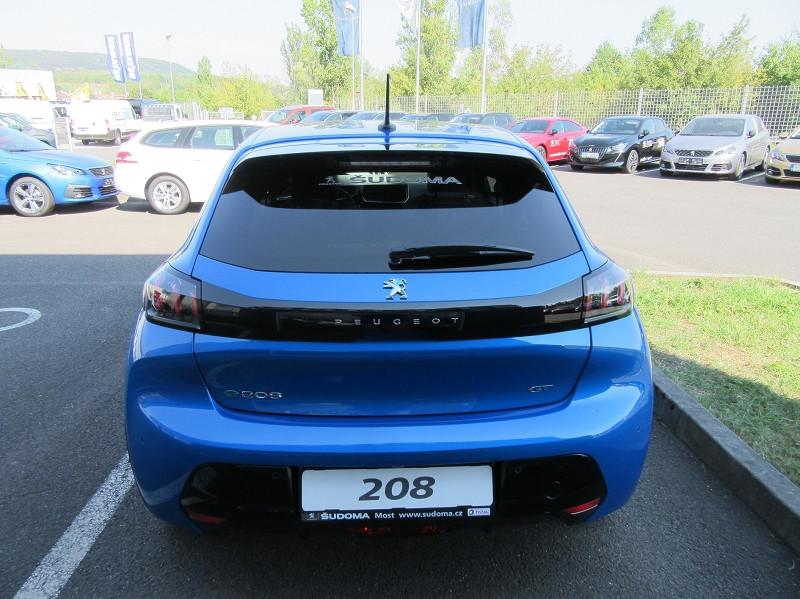 Photo 5 de l'offre de PEUGEOT 208 E-208 136CH GT à 33000€ chez YM Automobiles