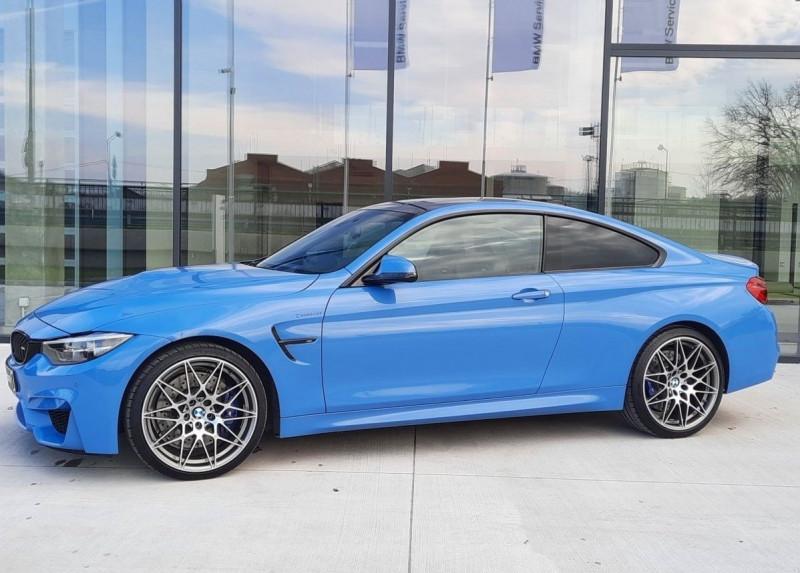 Photo 3 de l'offre de BMW M4 COUPE (F82) 3.0 450CH PACK COMPETITION DKG à 65000€ chez YM Automobiles