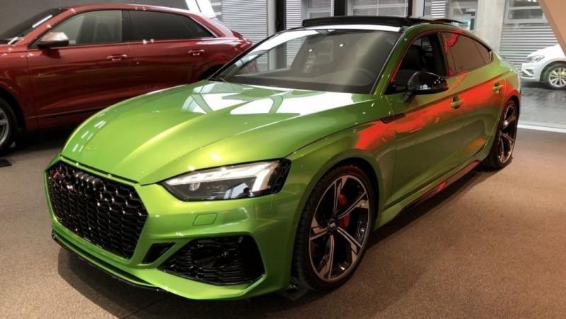 Audi RS5 SPORTBACK 2.9 V6 TFSI 450CH QUATTRO TIPTRONIC 8 Essence VERT Neuf à vendre