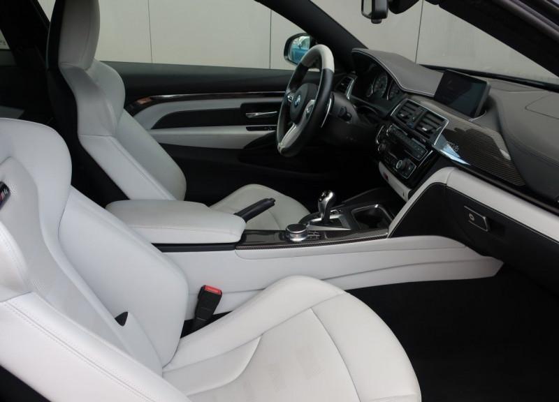 Photo 7 de l'offre de BMW M4 COUPE (F82) M4 431CH DKG à 70000€ chez YM Automobiles