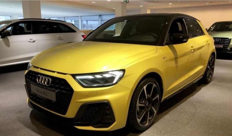 Audi A1 SPORTBACK 30 TFSI 116CH S LINE S TRONIC 7 Essence JAUNE Neuf à vendre