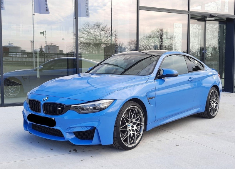 Bmw M4 COUPE (F82) 3.0 450CH PACK COMPETITION DKG Essence BLEU Occasion à vendre