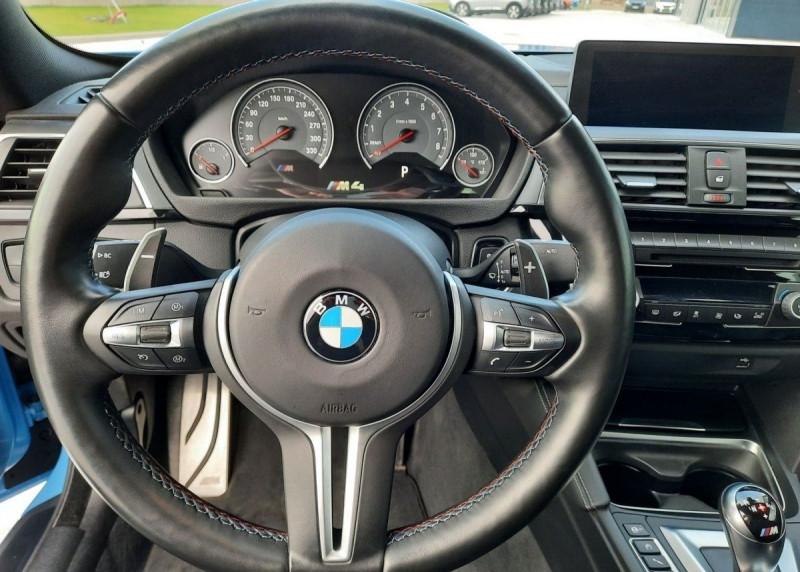 Photo 11 de l'offre de BMW M4 COUPE (F82) 3.0 450CH PACK COMPETITION DKG à 65000€ chez YM Automobiles