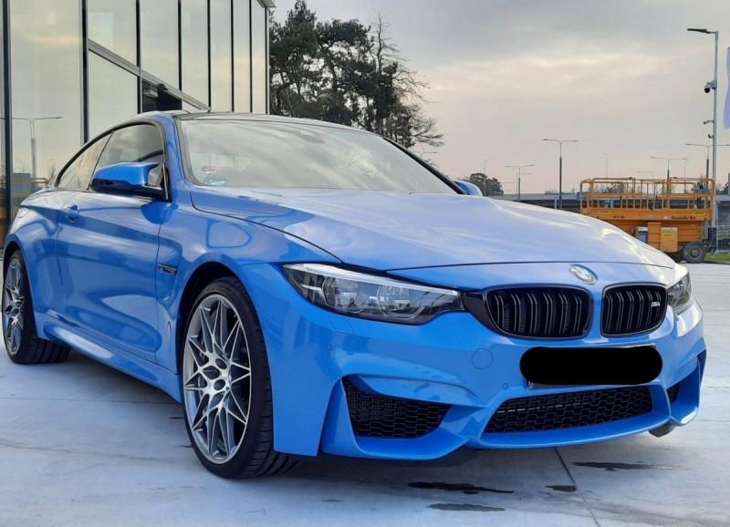 Photo 2 de l'offre de BMW M4 COUPE (F82) 3.0 450CH PACK COMPETITION DKG à 65000€ chez YM Automobiles