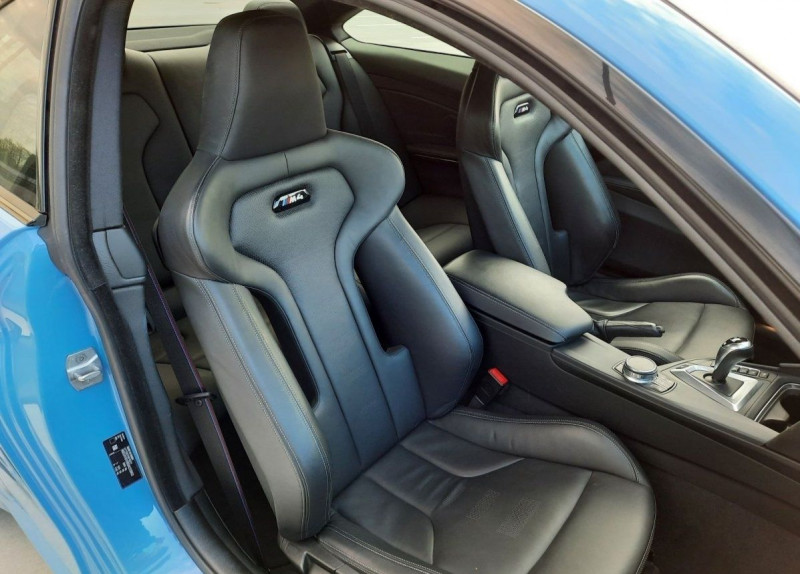 Photo 10 de l'offre de BMW M4 COUPE (F82) 3.0 450CH PACK COMPETITION DKG à 65000€ chez YM Automobiles