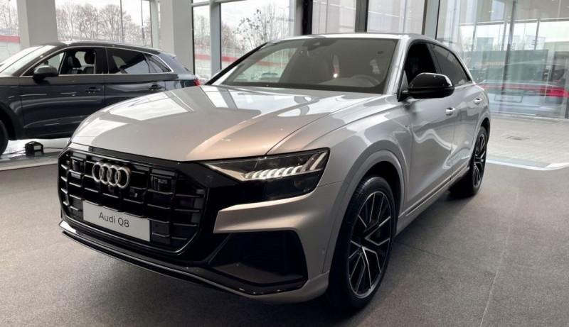 Audi Q8 50 TDI 286CH S LINE QUATTRO TIPTRONIC 8 17CV Diesel GRIS Neuf à vendre