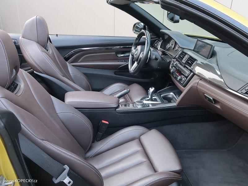 Photo 7 de l'offre de BMW M4 CABRIOLET (F83) M4 431CH DKG à 50000€ chez YM Automobiles