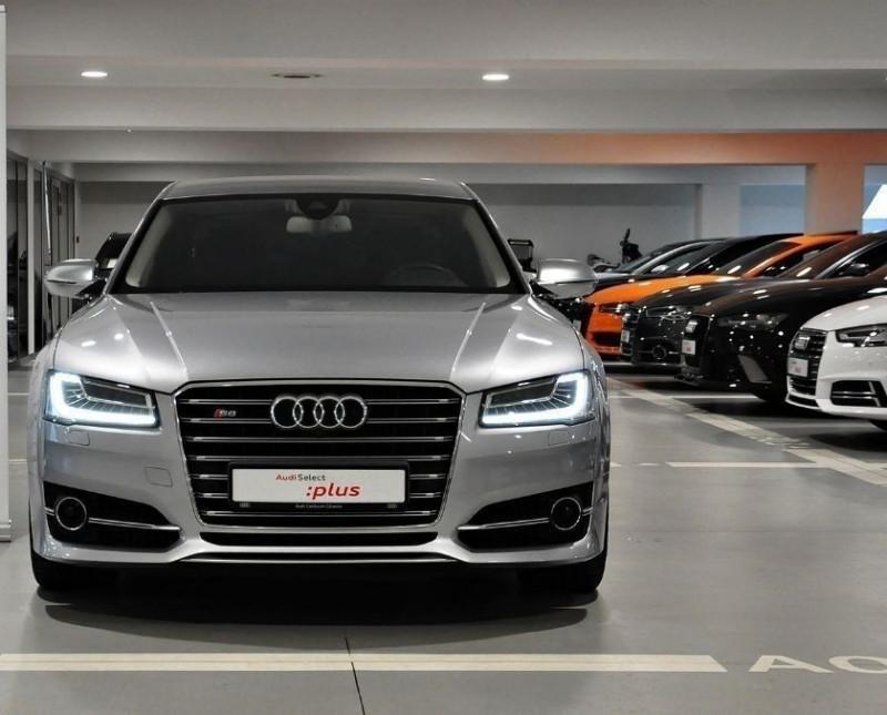 Audi S8 4.0 V8 TFSI 605CH PLUS QUATTRO TIPTRONIC Essence GRIS Occasion à vendre