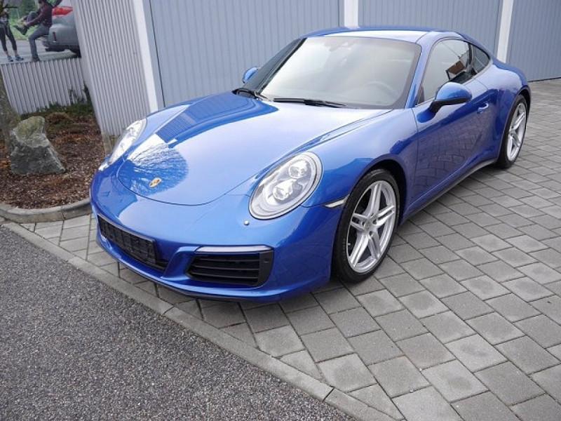 Porsche 911 COUPE (991) 3.0 370CH 4 PDK Essence BLEU Occasion à vendre