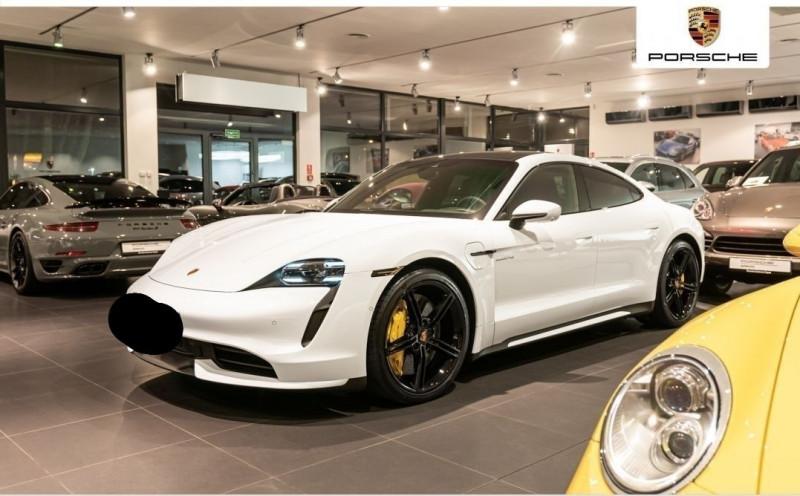 Porsche TAYCAN 571CH 4S AVEC BATTERIE PERFORMANCE PLUS Electrique BLANC Occasion à vendre