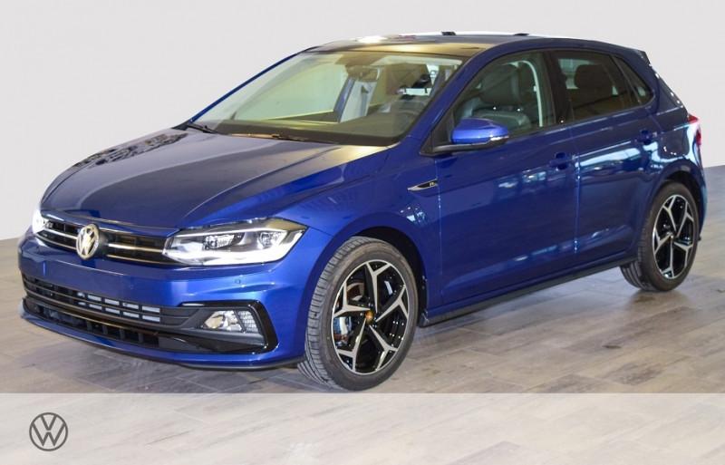 Volkswagen POLO 1.0 TSI 95CH R-LINE EURO6D-T Essence BLEU Neuf à vendre