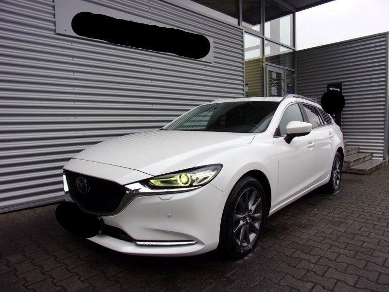 Mazda MAZDA 6 2.0 SKYACTIV-G 165CH DYNAMIQUE EVAP Essence BLANC Occasion à vendre