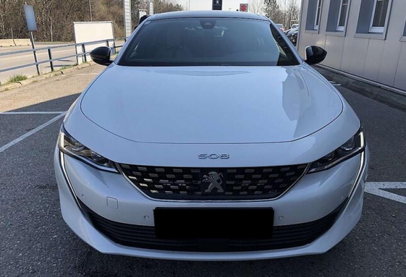 Photo 2 de l'offre de PEUGEOT 508 HYBRID 225CH GT E-EAT8 10CV à 43500€ chez YM Automobiles