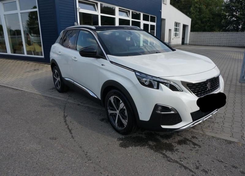 Peugeot 3008 2.0 BLUEHDI 180CH S&S GT EAT8 Diesel BLANC Occasion à vendre