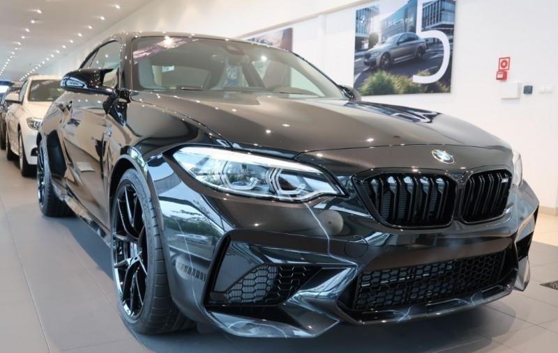 Photo 4 de l'offre de BMW M2 COUPE (F87) 3.0 410CH COMPETITION M DKG 29CV à 97000€ chez YM Automobiles