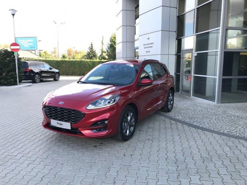 Photo 7 de l'offre de FORD KUGA 2.0 ECOBLUE 150CH MHEV ST-LINE à 33000€ chez YM Automobiles