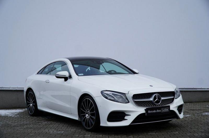 Mercedes-Benz CLASSE E COUPE (C238) 200 184CH FASCINATION 9G-TRONIC EURO6D-T Essence BLANC Occasion à vendre