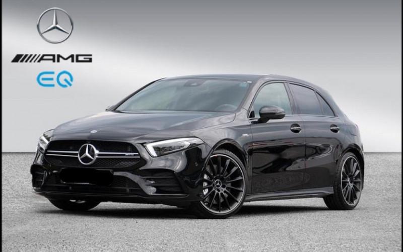 Mercedes-Benz CLASSE A BERLINE 35 AMG 306CH 4MATIC 7G-DCT SPEEDSHIFT AMG Essence NOIR Occasion à vendre