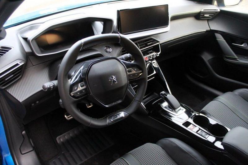 Photo 9 de l'offre de PEUGEOT 208 E-208 136CH GT LINE à 35000€ chez YM Automobiles