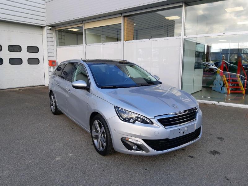 Peugeot 308 SW 1.6 BLUEHDI 120CH ALLURE S&S EAT6 Diesel GRIS ALUMINIUM Occasion à vendre